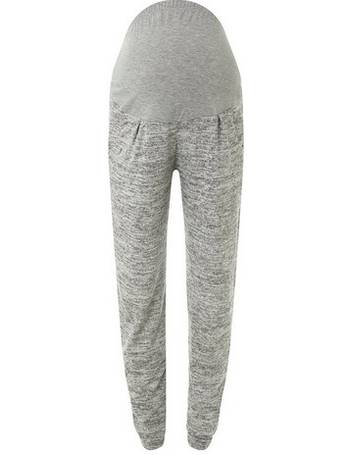 0165ef5b3a528 Womens Maternity Grey Brushed Joggers- Grey from Dorothy Perkins