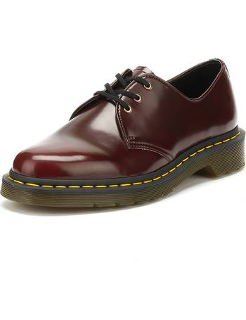 2b4bf0df09ce8 Dr. Martens Cherry Red Vegan 1461 Shoes from Spartoo