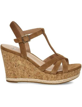 f8a8f583bed Shop Women's Ugg Wedge Sandals up to 70% Off | DealDoodle