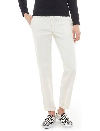 010596684a91 Framework Trousers (marshmallow) Women White from Vans