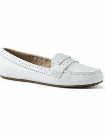 0afef234ab95 Lands  End Women s Leather Comfort Penny Loafers from Land s End