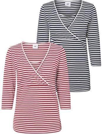 55250923377ea Mamalicious. Marigold Jersey Maternity Nursing Dress. from John Lewis.  £30.00. Tess Organic Cotton Stripe Long Sleeve Maternity Top from John Lewis