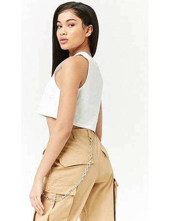 f022b444baf47c Shop Forever 21 Women s Graphic Crop Tops up to 70% Off