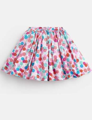 Joules Girls Ariel Luxe Woven Applique Skirt 1 6 Yr in NAVY UNICORN SKATE