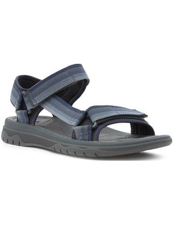 ff57c945beb Mens Navy Lightweight Touch Fasten Sandal from Shoe Zone