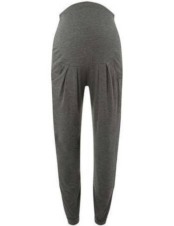 bc1f3d0ae4cd4 Womens Maternity Grey Over The Bump Joggers- Grey from Dorothy Perkins