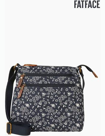 FatFace Dragonfly Floral Canvas Cross Body Bag from Next 50f5c0e4d59ea