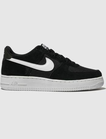 888c4a7403 Black & White Air Force 1 Trainers Youth from Schuh