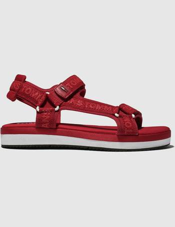 2cee528c1429 Tommy Hilfiger. Red Tj Mesh Webbing Sporty Sandals