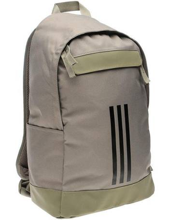 Adidas. Classic 3 Stripe Backpack. from Sports Direct 85eee0a884832