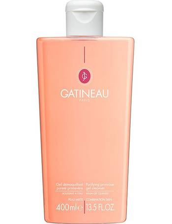 Gatineau - Purifying Almond Cleanser (For Combination Skin) - 400ml/13.5oz REN Ever Calm Anti-Redness Serum, 1.02 Oz