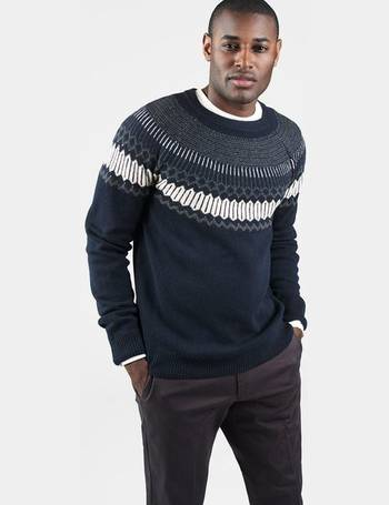 57619a9da Fairisle Holiday Crewneck Jumper from Gant