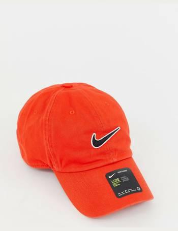 2ab4fdb27d9 Nike. Swoosh H86 Cap In Red 943091-634