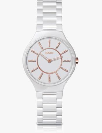 f57f7127e Rado. R27958702 Women's True Diamond Ceramic Bracelet Strap Watch