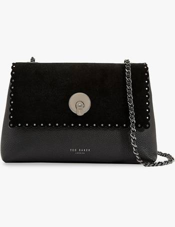 72be9c0cd9ee Ted Baker. Sultane Lock Detail Leather Cross Body Bag. from John Lewis