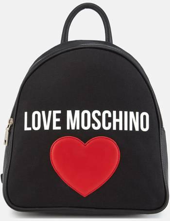 Multicolour Women/'s Tote Natural Canvas-black Love Moschino Borsa Canvas Naturale+nappa Pu Blu 11x28x40 cm B x H T
