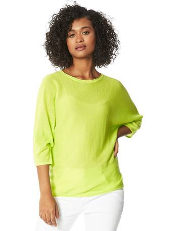 Roman Originals Women/'s Embellished Batwing T-shirt
