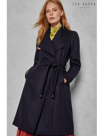 f4be9ece5 Shop Women s Ted Baker Wrap and Belted Coats up to 50% Off