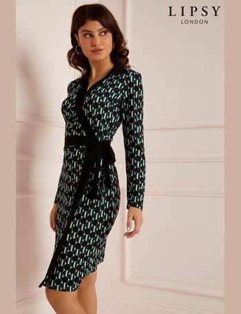 ec5b6e5f46e2 Lipsy Womens Printed Dresses