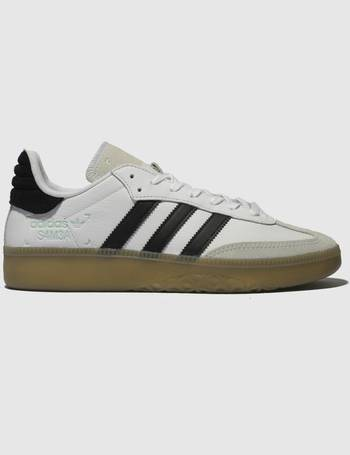 d04b9cc4d042 Adidas. White   Black Samba Rm Trainers. from Schuh
