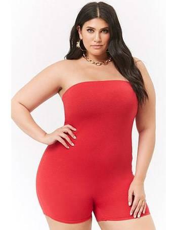 dce243d069ec9 Shop Women s Forever 21 Plus Size Jumpsuits up to 70% Off