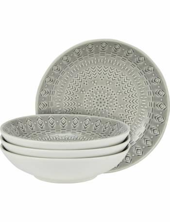Argos Home Set of 4 Stockholm Pasta Bowls