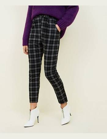 d0a6d7b872d8e Black Check D-Ring Belted Trousers New Look from New Look. Quick View · Cameo  Rose