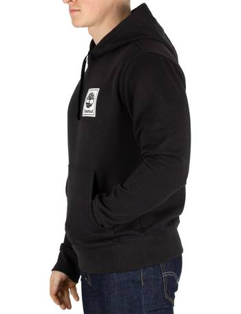 506ca4c53 Timberland. Men's Stack Logo Pullover Hoodie. from Spartoo. £54.95. Mens  Back Logo Zip Hoodie Grape Leaf ...