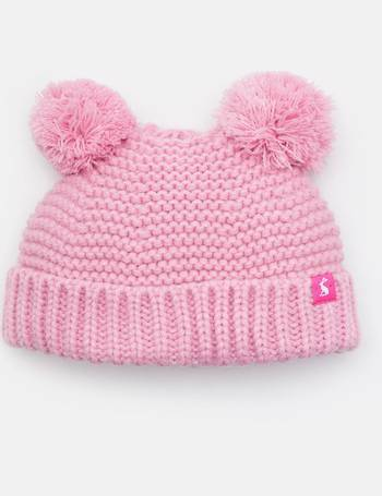 322eaafd258 Pom pom Knitted Double Pom Pom Hat from Joules