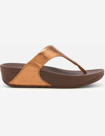 510ecad3744d5 Fitflop. Women s Lulu Molten Metal Toe Post Sandals