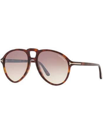 d906caf1f562 Tom Ford. Ft0645 57 Brown Pilot Sunglasses. from Sunglass Hut Uk