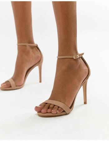 8b658cfef88 Stecy Blush Barely There Heeled Sandals