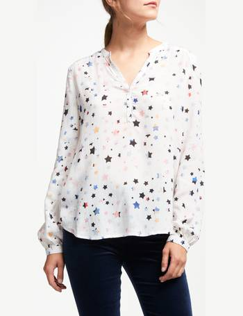 a8fbd528301df6 Lizzie Painterly Star Print Blouse from John Lewis