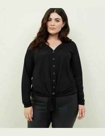 67eeb08639751e Shop Women's Plus Size Tops from New Look up to 85% Off | DealDoodle