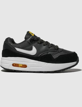 53ddb2e2f9 Grey & Black Air Max 1 Trainers Junior from Schuh