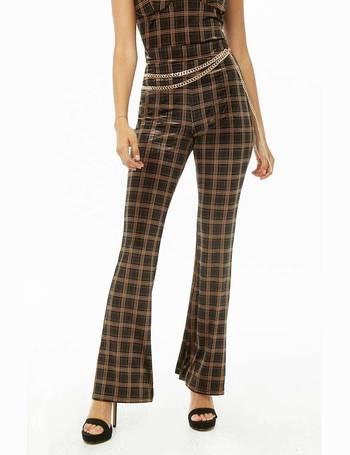 5023c4e085afd4 Shop Women's Forever 21 Flared Trousers up to 50% Off | DealDoodle