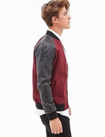 pink bomber jacket mens forever 21