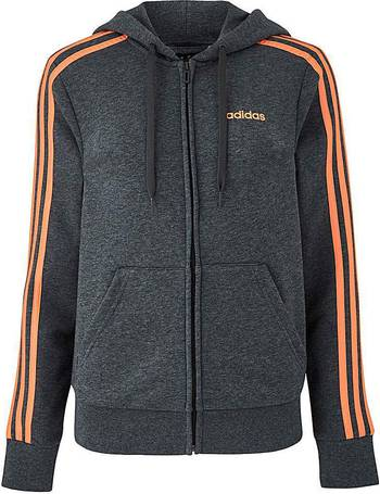Sweatshirt Juventus 2018 2019 Adidas 3S Full Zip Hoody (Sesame)