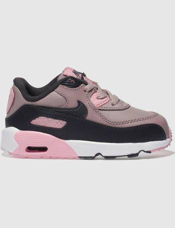best service 400f1 7be0b Nike. Pink Air Max 90 Trainers Toddler. from Schuh