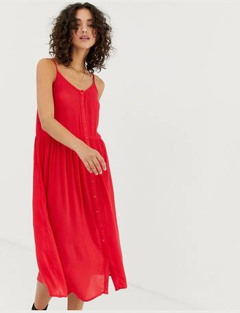 3dbafe930 Shop Women's Vero Moda Midi Dresses up to 70% Off | DealDoodle