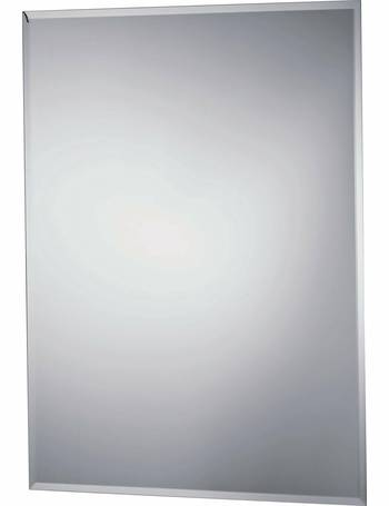 innovative design 4102f a365e Rectangular Bevelled Bathroom Mirror