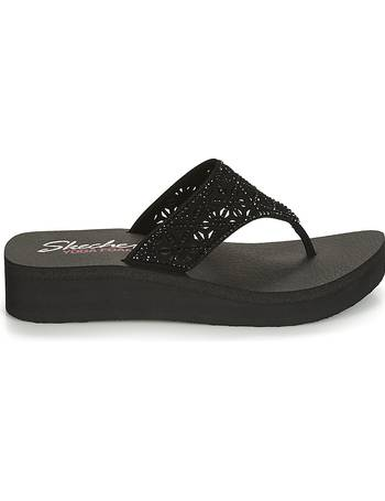 d0c4cb72 VINYASA women's Flip flops / Sandals (Shoes) in Black from Spartoo