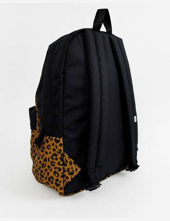 971e72daa5162a Vans. leopard print realm classic backpack. from ASOS