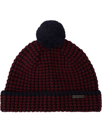 e169441d70a Ted Baker. Merino Wool Knitted Beanie Hat