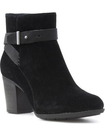 ef2a2bc95fbf Shop Women s Clarks Leather Boots up to 60% Off