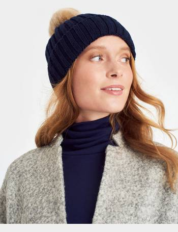 d35ab6358f3 French Navy Pop-a-pom Bobble Hat from Joules