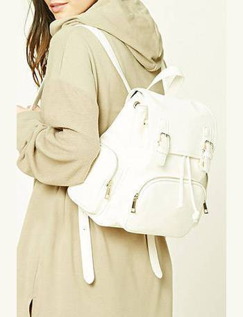 5edb96a137 Shop Forever 21 Women s Leather Backpacks up to 60% Off