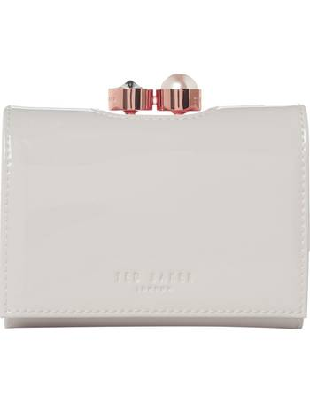 f4eb210b743663 Ted Baker. Elmeer small patent flapover purse. from House Of Fraser