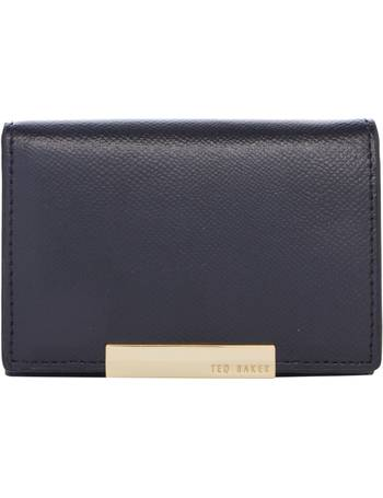 a71a3b38cd72cd Ted Baker. Marged black small ziparound purse. from House Of Fraser
