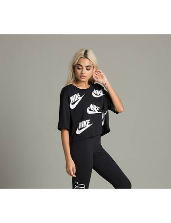 Womens Futura Cropped T-Shirt from Footasylum e366e0cb3